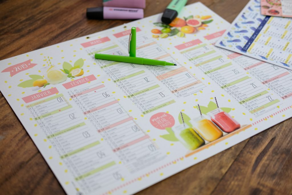 2-calendriers-oberthur-grille-organisation-2020-papeterie-blog