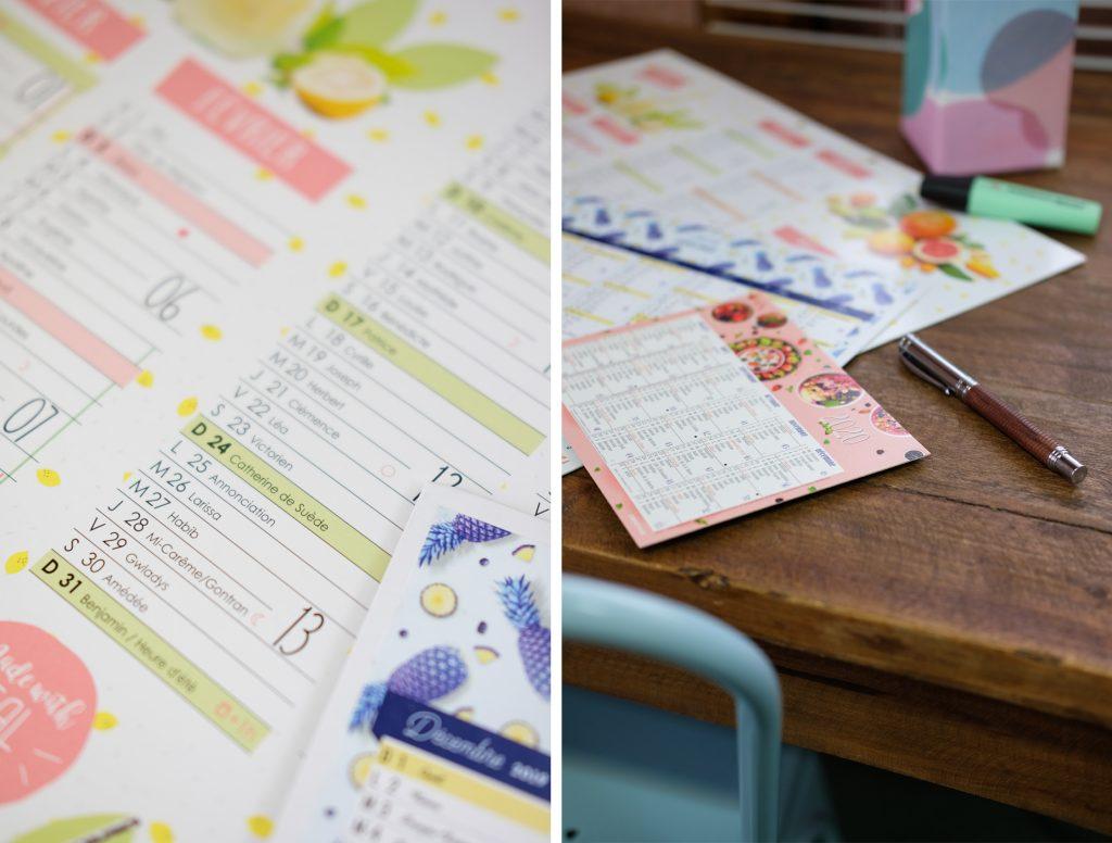 3-calendriers-oberthur-grille-organisation-2020-papeterie-blog-semestriel