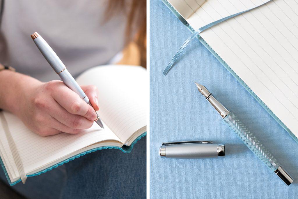 2-blog-oberthur-bleu-idee-cadeau-maman-ecriture-stylos-metal-chrome-plume-roller-bille