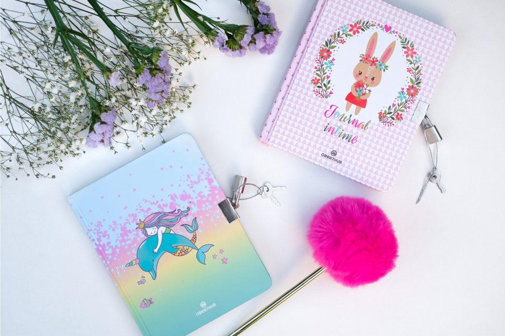 3-blog-oberthur-journal-intime-junior-papeteir-fantaisie-sirene-lapin-stylo-rigolo-pompon