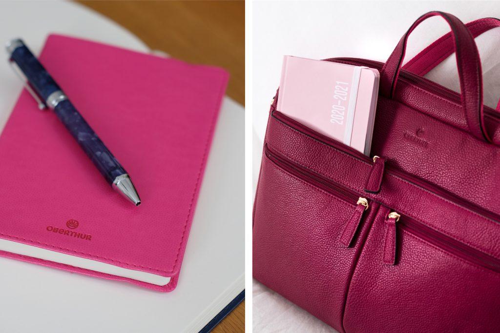1-blog-oberthur-octobre-rose-fuchsia-maroquinerie-papeterie-carnet-notebook-pink-framboise-selection
