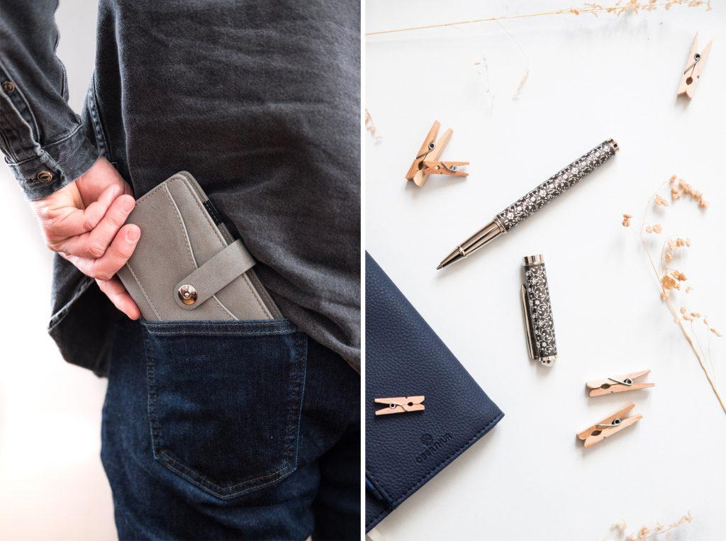Un agenda ou un stylo, de jolies idées cadeaux Oberthur pour Noël