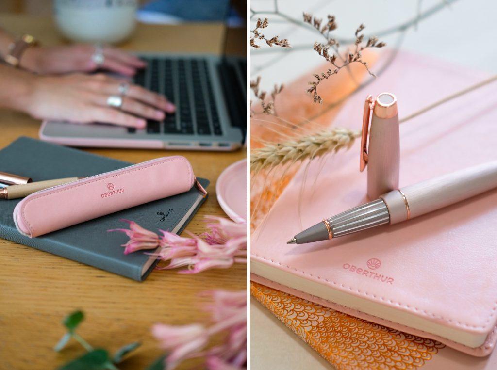 Voyez la vie en rose avec les accessoires Oberthur