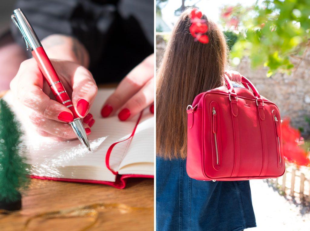 Un joli stylo ou une sacoche ordinateur, des idées cadeaux pour Noël