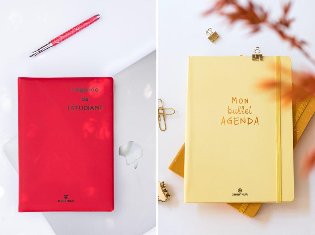 Agenda Oberthur et bullet agenda pour les lycéens et les étudiants