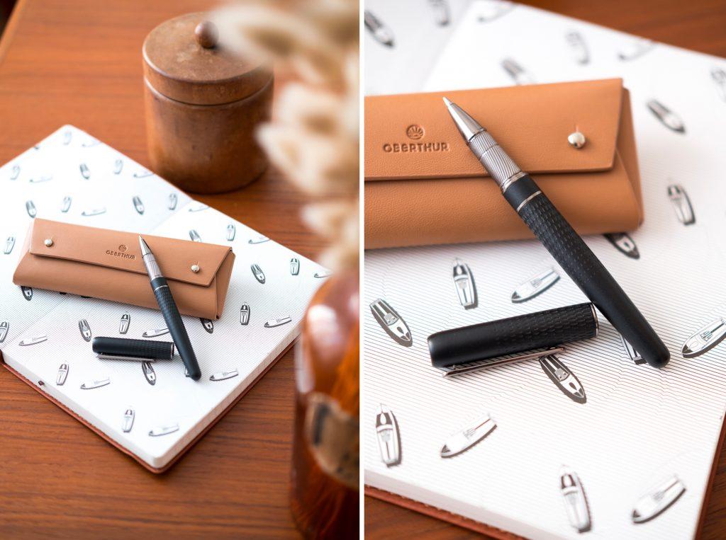Nouveauté stylo chez Oberthur, le stylo Athènes disponible en version plume, roller et bille